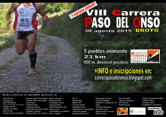 Carrera Paso del Onso, 23 km y 900 m D+