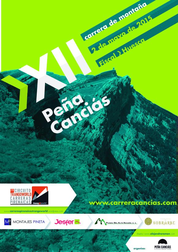 XII Carrera por Montaña Peña Canciás, 25 km y 1300 D+, 2 de mayo